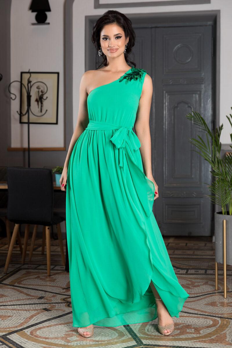 Rochie Romantic Look Verde