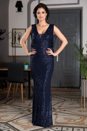 Rochie Sophisticated Bleumarin