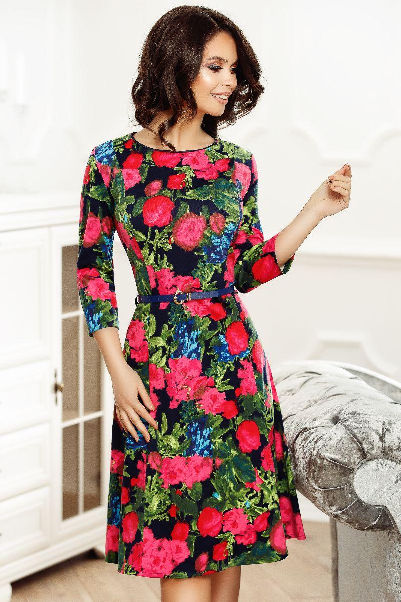 Rochie Alana cu imprimeu floral 1