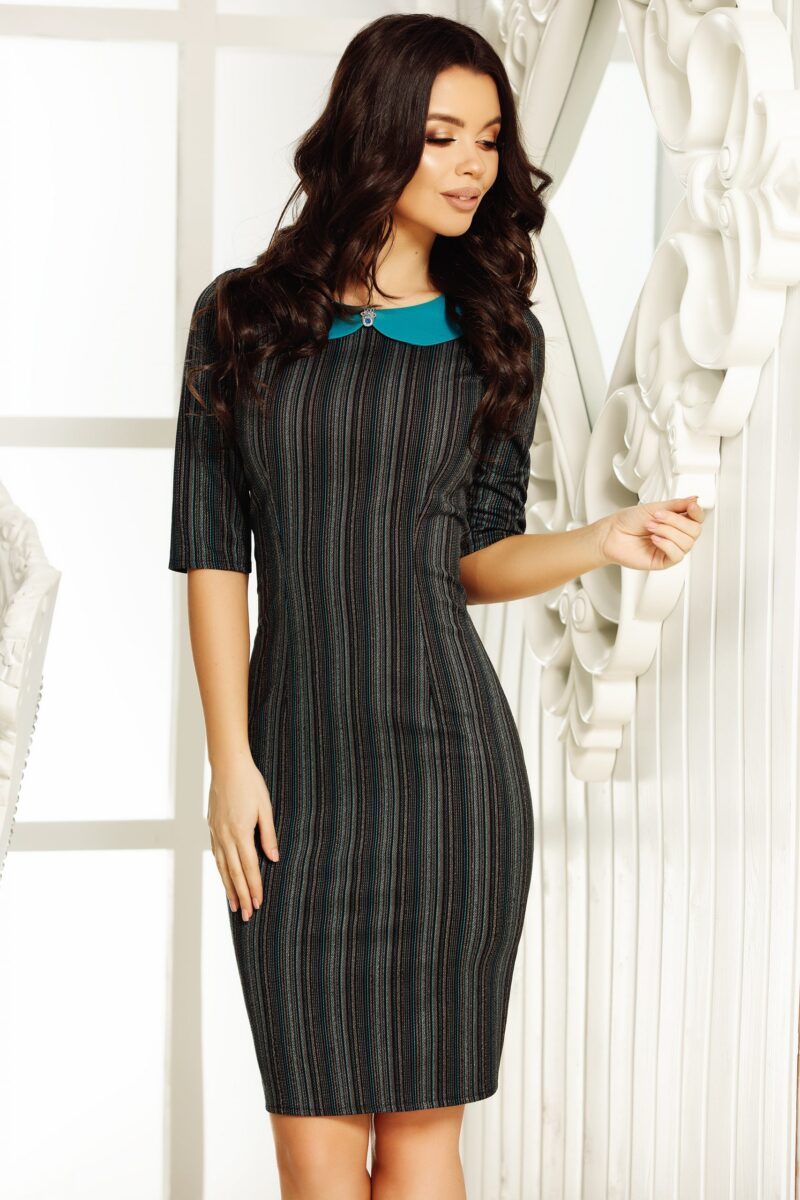 Rochie Lisa Grey 1 scaled