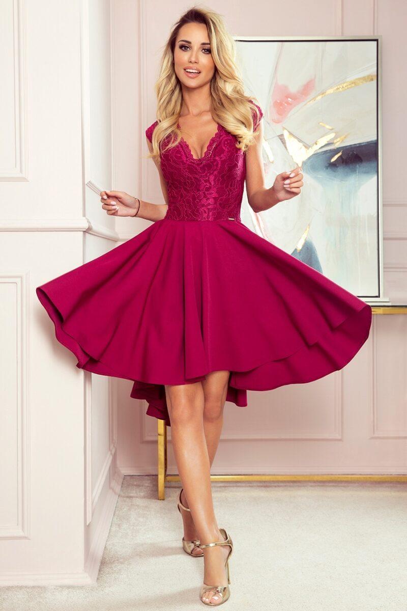 rochie burgundy patricia