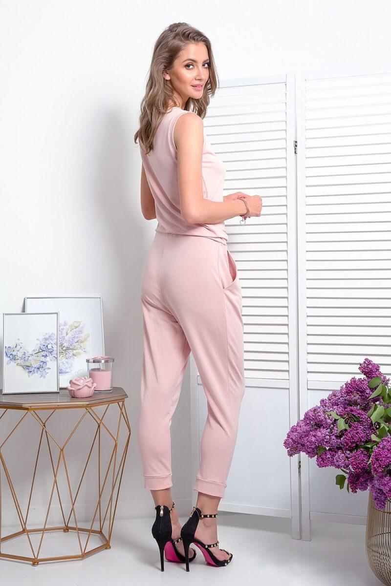 Salopeta de vara roz lunga